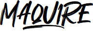 Maquire font