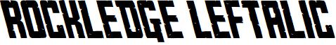 Rockledge Leftalic