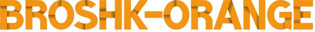 BroshK-Orange font