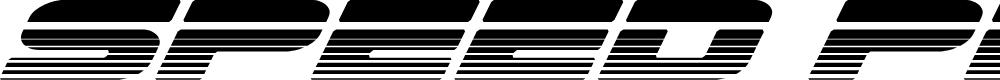 Preview image for Speed Phreak Halftone Italic