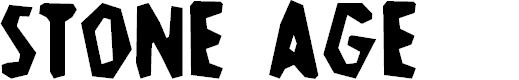 Preview image for Stone-Age Font