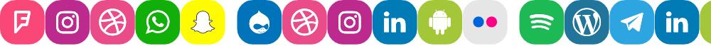 Icons Social Media 18