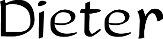 Preview image for Dieter Font