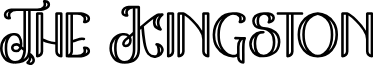 The Kingston font