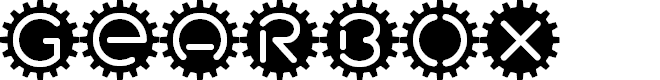 Preview image for GearBox Font