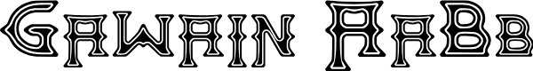 Preview image for Gawain Font