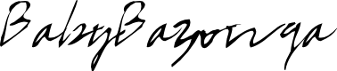 Preview image for BabyBazonga Font