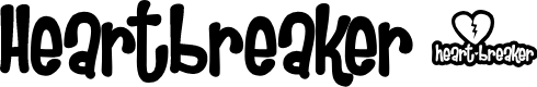 Preview image for Heartbreaker Font