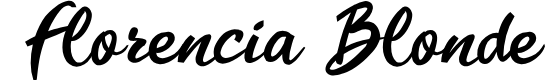 Preview image for Florencia Blonde Font
