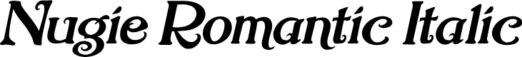 Preview image for Nugie Romantic Italic