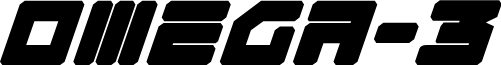Omega-3 Italic