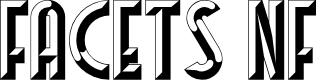 Preview image for Facets NF Font