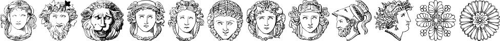 Preview image for ImperioRomano Medium Font