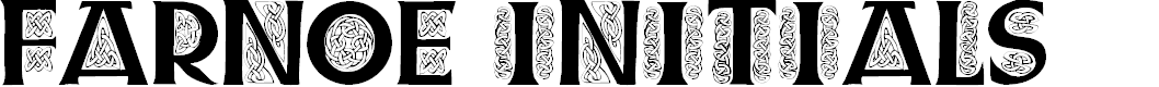 Preview image for Farnoe Initials Font