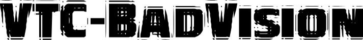 Preview image for VTC-BadVision Font