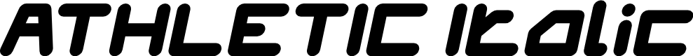 Preview image for ATHLETIC Italic