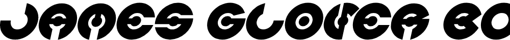 Preview image for JAMES GLOVER Bold Italic