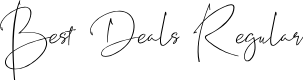 Preview image for Best Deals Regular Font