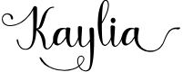 Preview image for Kaylia Font