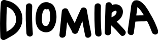 Preview image for DIOMIRA Font