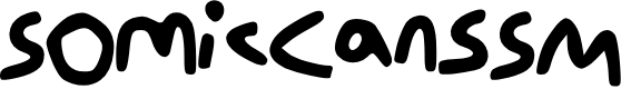 Preview image for Somic_Cans_SM Font