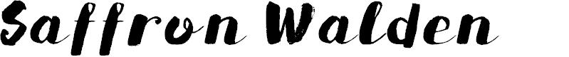 Preview image for DKSaffronWalden Font
