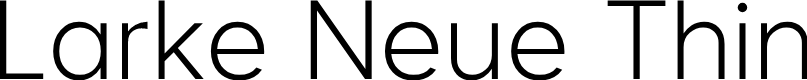 Preview image for Larke Neue Thin