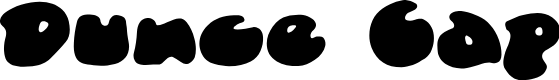 Preview image for DunceCapBB Font