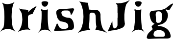 Preview image for IrishJig Font
