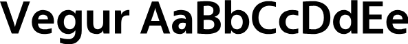Vegur-Bold