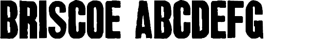 Preview image for Briscoe Dispatch Font