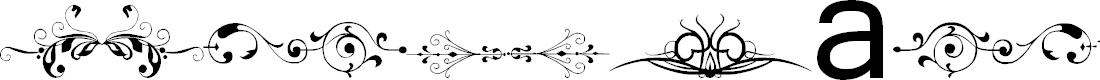 Preview image for Vintage Decorative Signs 12 Font
