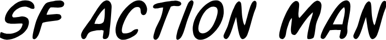 Preview image for SF Action Man Italic