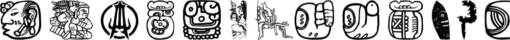 Preview image for Maya Allstars Font