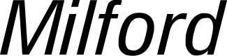 Preview image for Milford Italic