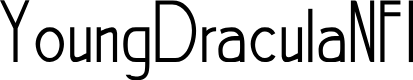 Preview image for YoungDraculaNFI Font