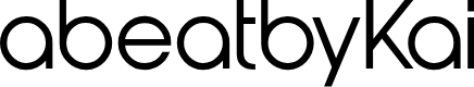 Preview image for abeatbyKai Font