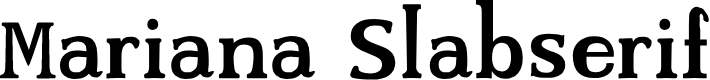 Preview image for Mariana Slabserif Font