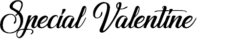 Preview image for Special Valentine Font