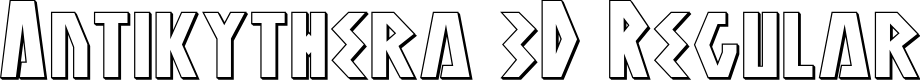 Preview image for Antikythera 3D Regular