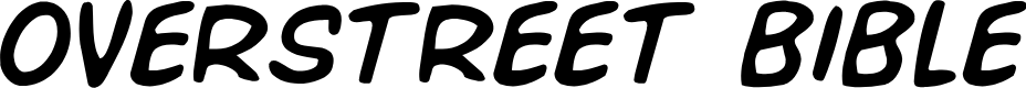 Preview image for Overstreet Bible Semi-Italic