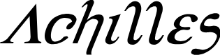 Preview image for Achilles Super-Italic