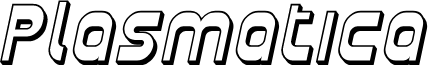 Plasmatica Shaded Italic