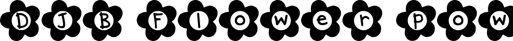 Preview image for DJB Flower Power Font
