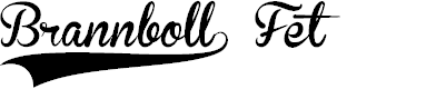 Preview image for Brannboll F PERSONAL USE ONLY Font