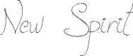 Preview image for New Spirit Font