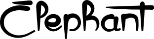 Preview image for Elephant Font