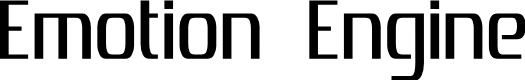 Preview image for Emotion Engine Font