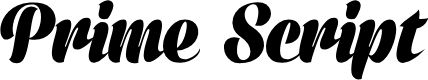 Preview image for Prime Script PERSONAL USE ONLY Font