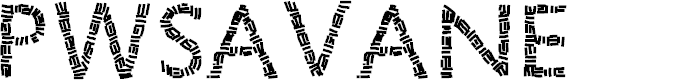 Preview image for PWSavane Font